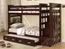 3 BED BUNK BED WITH DRAWERS ONLY $499 in Riverside, California