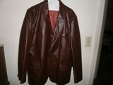 Man's Leather coat (reduced) in Macon, Georgia