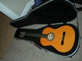 Aucostic Guitar with case in Fort Rucker, Alabama