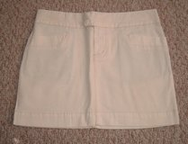 American Eagle Stretch Cream Mini Skirt Sz 2 in Morris, Illinois