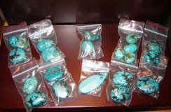 Large Turquoise Chunk Pendants in Alamogordo, New Mexico