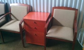 2 Kimball? Mahogany Guest chairs in Naperville, Illinois