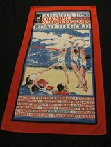 1996 Atlanta Summer Olympic Games Beach Towel in St. Charles, Illinois